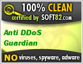 ddos protection is clean